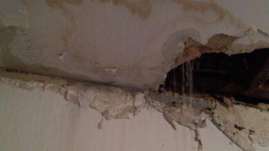 صورة حل مشكلة تسرب المياه من السقف والجدران